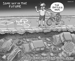 By Graeme MacKay, The Hamilton Spectator - Wednesday September 17, 2014There�s a pothole in Hamilton's roads budgetThe city has run out of money to repair local roads.The annual capital roads budget for Hamilton is close to $70 million, but most of that cash is used to fix highways, arterial roads, bus routes and bridges.The city relied for several years on $25 million left over from a provincial grant to deal with neighbourhood streets � but that money has been used up.That means local roads will not be rebuilt unless they're dug up for sewer work or already identified on a four-year-old council priority list, said engineering director Gary Moore.Residents in Wards 1 through 8 can also lobby councillors to use area rating cash. Each of those wards has a $1.6-million annual budget, but fewer than a dozen repaving projects have used that discretionary money so far.Moore said relying on