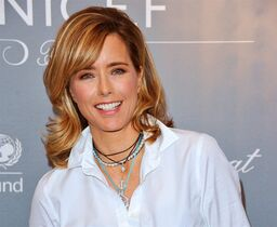 FILE - In this Jan. 14, 2014 file photo, actress Tea Leoni arrives at the 2014 UNICEF Ball in Beverly Hills, Calif. Leoni stars in the CBS political drama,