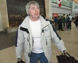 Robert Latimer is pictured in Ottawa on March 17, 2008. The National Parole Board's appeal division has ruled Latimer can travel freely outside Canada. THE CANADIAN PRESS/Tom Hanson