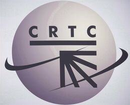 A CRTC logo is shown in Montreal on September 10, 2012. Canadian TV viewers, perhaps as early as next year, will finally get to see those U.S. Super Bowl ads they've been clamouring to watch for years, but industry experts say the rule change by regulators could have ripple effects. THE CANADIAN PRESS/Graham Hughes
