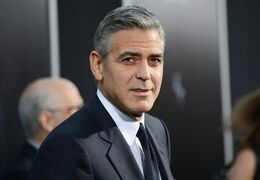 FILE - In this Oct. 1, 2013 file photo, actor George Clooney attends the premiere of