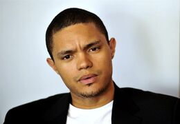 In this photo taken Oct. 27 2009 South African comedian Trevor Noah is photographed during an interview. Trevor Noah, a 31-year-old comedian from South Africa who has contributed to