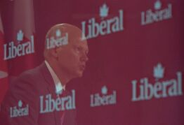 Liberal MP Geoff Regan speaks during a press conference at the National Press Theatre in Ottawa on Wednesday, July 23, 2014, to discuss developments in the Senator Mike Duffy case. THE CANADIAN PRESS/Sean Kilpatrick