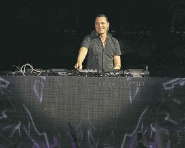 Dutch DJ Tiesto is scheduled to perform at the Frosh Music Festival on Sept. 14.