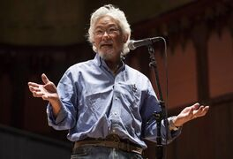 David Suzuki is pictured in Toronto on January 12, 2014. THE CANADIAN PRESS/Mark Blinch