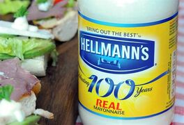 FILE - This undated file product image provided by Unilever shows Hellmann's real mayonnaise. Hellman's mayonnaise maker Unilever says that it has withdrawn its lawsuit against the maker of