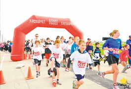 Participants in the annual Headingley Run for Wishes are always eager to get started.
