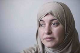 A judge would not hear Rania El-Alloul's case because she was wearing a headscarf.