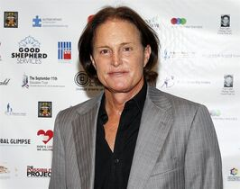 FILE - In this Sept. 11, 2013 file photo, former Olympic athlete Bruce Jenner arrives at the Annual Charity Day hosted by Cantor Fitzgerald and BGC Partners, in New York. ABC 's Diane Sawyer will interview the former Olympic champion and patriarch of the Kardashian television clan in a two-hour interview airing on Friday, April 24. (Photo by Mark Von Holden/Invision/AP, File)