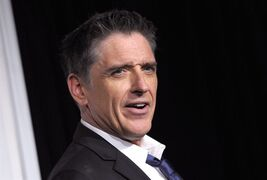 FILE - In this Dec. 1, 2012 file photo, Craig Ferguson appears backstage at the Grammy Nominations Concert, in Los Angeles. Ferguson will spend tomorrow's future yesterdays (as his theme song proclaims) somewhere other than