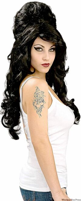 Amy Winehouse costume.