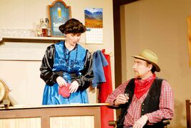Local residents enjoyed 25 years of dinner theatre performances staged by the Starbuck United Church Players.