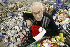 Kai Madsen has been with the Christmas Cheer Board of Winnipeg since the 1970s.