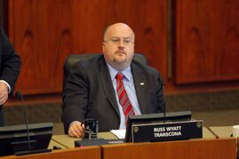 Russ Wyatt confirmed he will not seek re-election to council.
