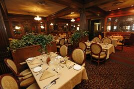 The main dining room on the second floor of Bailey's.