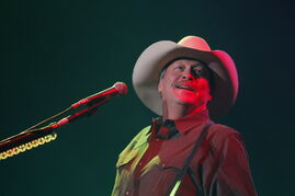 Country music star Alan Jackson plays at the MTS Centre Wednesday night to a crowd of 9,000 fans.