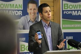 Mayoral candidate Brian Bowman