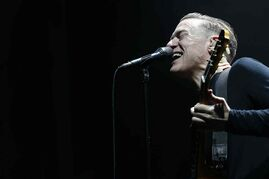 Bryan Adams performs at MTS Centre Tuesday, January 20.