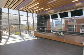 The Tower is a new bar on the 300 level at the MTS Centre.