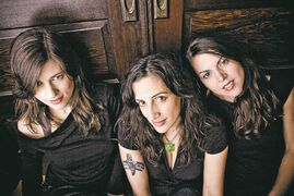 From left, Ruth Moody, Nicky Mehta and Heather Masse.
