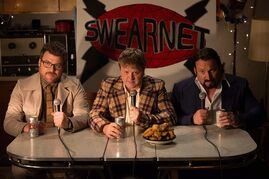 Robb Wells, left to right, Mike Smith and John Paul Tremblay star in