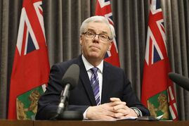 Premier Greg Selinger has less than four months to address a leadership challenge and a budget deficit.
