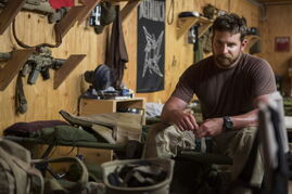 Clint Eastwood's American Sniper sends war veteran Bradley Cooper back to Texas with a hero's resumé and a killer's anguish.