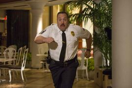 Kevin James returns as the titular hero in Columbia Pictures' Paul Blart: Mall Cop 2.