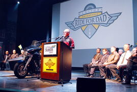 "MRFD spokesperson Ed Johner, at a kickoff event on April 19, says registrations and pledges are going well and the ride will be an ""awesome sight."""