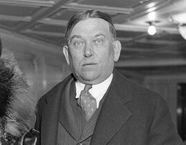 Writer, H.L. Mencken is photographed on board the S.S. Columbus in New York on . 27, 1932. THE CANADIAN PRESS/AP, file