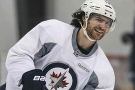 Although some Jets, including Jim Slater have been in town and on the ice already, their 2014 training camp formally opens Thursday with medicals and physicals.