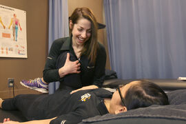 Leah Dlot, physiotherapist at Elite Sports Injury
