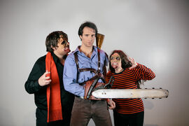 Evil Dead: The Musical is a made-in-Canada spectacle that makes its Winnipeg première Wednesday.