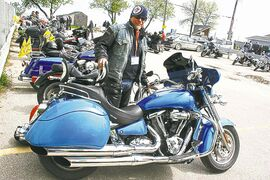Ed Johner, a prostate cancer survivor and Ride for Dad spokesperson, says a simple three-minute test can save your life.