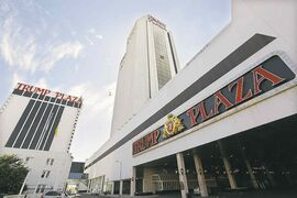 Michael Ein / The Associated Press files The Trump Plaza Hotel & Casino is the fourth Atlantic City casino to close this year.