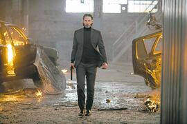 You don't tug on Superman's cape or spit into the wind and you don't mess around with John Wick.