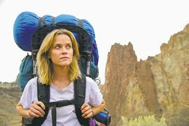 Witherspoon is grittier than usual as hiker Cheryl Strayed in Wild.
