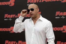 FILE - In this April 29, 2011, file photo, Actor Vin Diesel poses during the photo call of the movie