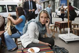 This photo provided by USA Network shows Piper Perabo as Annie Walker a field agent with the CIA in season 5 of