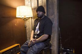 Ghostface Killah is photographed ahead of playing with Toronto based band BadBadNotGood in Toronto on Thursday February 19 2015, ahead of the release of the their collaboration album