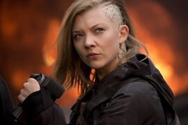 """Natalie Dormer stars as Cressida in """"The Hunger Games: Mockingjay, Part 1,"""" opening Friday. THE CANADIAN PRESS/eOne Films-Murray Close"""