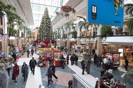 new poll suggests that most Canadians are procrastinators when it comes to holiday shopping. Christmas shoppers are shown walking to stores at the Laurier shopping centre in Quebec City, Thursday, December 16, 2010. THE CANADIAN PRESS/Jacques Boissinot