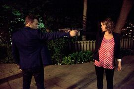 Peter Mooney and Missy Peregrym star in