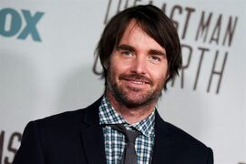 Will Forte arrives at the LA premiere screening of