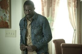 This image released by Screen Gems Films shows Idris Elba in a scene from