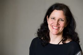 FILE - In this April 16, 2014 file photo, Laura Poitras poses for a portrait in New York. Poitras' one-of-a-kind documentary