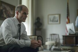 In this image released by Netflix, Michael Kelly appears in a scene from