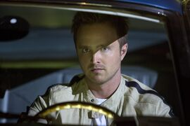 "This image released by DreamWorks II shows Aaron Paul in a scene from ""Need for Speed."" (AP Photo/DreamWorks II, Melinda Sue Gordon)"