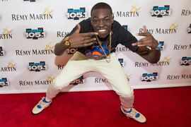 FILE -- In this Oct. 30, 2014 file photo, Bobby Shmurda arrives at Power 105.1's Powerhouse 2014 at Barclays Center in Brooklyn, New York. Shmurda whose real name is Ackquille Pollard has been arrested in New York City in a gun and narcotics investigation. Authorities said Wednesday, Dec. 17, 2014, that he was apprehended after leaving a Manhattan recording studio. Several others were also taken into custody. (Photo by Scott Roth/Invision/AP, File)