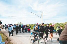Organizer Brent Dyck is hoping to see turnout increase for this year's  Tammi Kroeker Memorial: Run, Walk or Ride event on Sun., Sept. 14. Last year's event attracted approximately 50 participants.